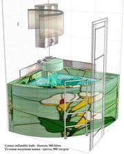 Новое изобретение - раскладная аэромассажная ванна