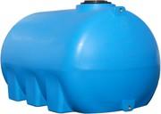 Бочки горизонтальные пластиковые G-3000 л Киев