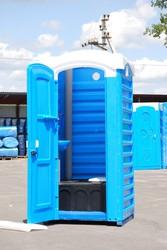 Туалетные кабины из пластика для дачи