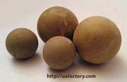 Резиновый шарик ― очиститель сит