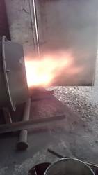 Теплогенерирующая установка для работы на пылеугольном топливе.